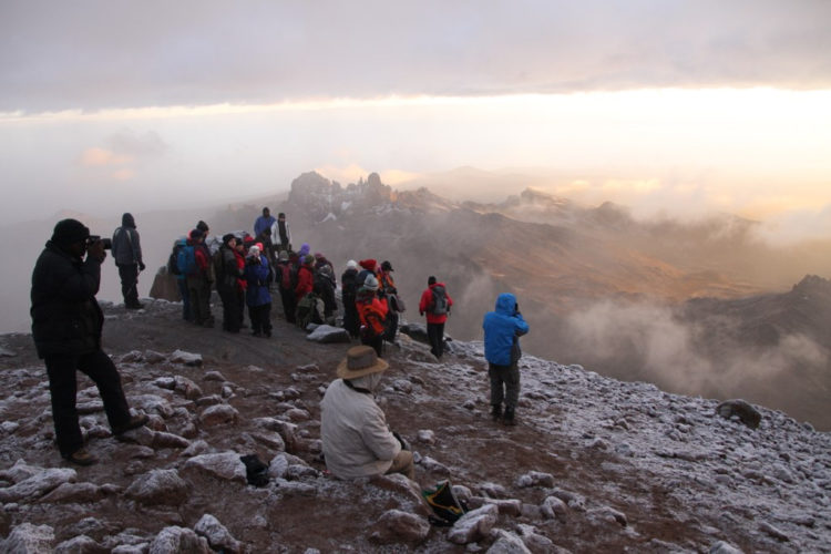 group treks, mountain views, Mount Kenya climb, mountain climbing in africa